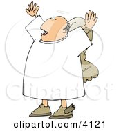 Preaching Angel Clipart by Dennis Cox