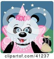 Giant Panda Princess Halloween Bear Character