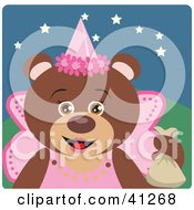Brown Bear Fairy Princess Halloween Character