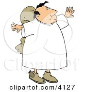 Religious Angel Clipart by Dennis Cox