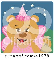 Teddy Bear Character In A Princess Halloween Costume