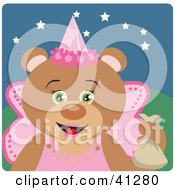 Teddy Bear Halloween Princess Character