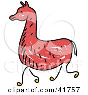 Sketched Brown Llama