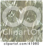Clipart Illustration Of A Crinkled Tin Foil Background