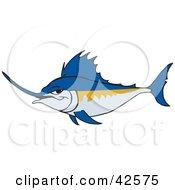 Tough Blue Swordfish