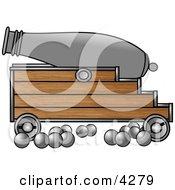 CannonAmpCannonballs Clipart by djart