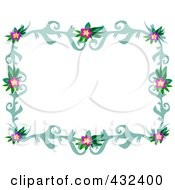 Pretty Floral Frame 2