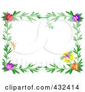 Pretty Floral Frame 1