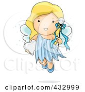 Cute Tooth Fairy With A Wand