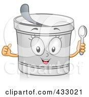Yogurt Character Gesturing