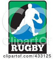 Royalty Free RF Clipart Illustration Of A Rugby Man 3