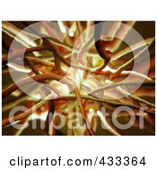Royalty Free RF Clipart Illustration Of A 3d Organic Background