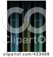 Royalty Free RF Clipart Illustration Of Three Bubbly Test Tubes