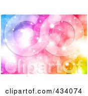 Royalty Free RF Clipart Illustration Of A Colorful Glitter Background