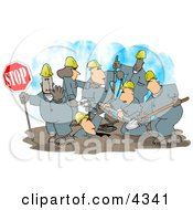 Construction Crew Clipart
