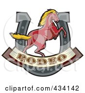 Rodeo Horse Icon