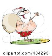Santa Surfing 2 by Hit Toon