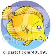 Logo Of A Marine Fish 1