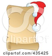 Royalty Free RF Clipart Illustration Of A Blank Antique Parchment ...