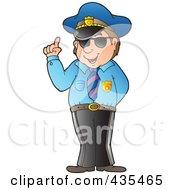 Advising Police Officer