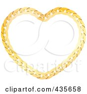 Gold Chain Heart