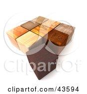 3d Wooden Blocks
