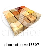 3d Mixed Wooded Blocks