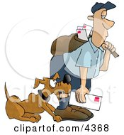 Dog Attacks On Humans Clipart