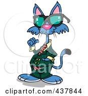 Clip Art Cool Cat
