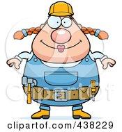 Plump Female Builder