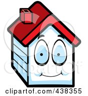 Royalty Free RF Clipart Illustration Of A House Character by Cory Thoman