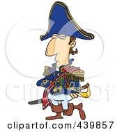 Royalty Free RF Clip Art Illustration Of A Cartoon Emperor