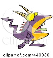 Cartoon Speckled Goblin