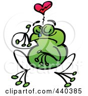 Broken Hearted Frog Crying - 2