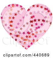 Light Pink Starry Heart
