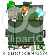 Leprechaun Dumpster Diving