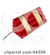 Royalty Free RF Clip Art Of 10 Sticks Of Dynamite