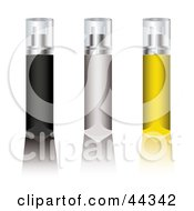 Assortment Of Aerosol Deodorant Spray Sticks