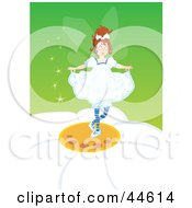 Pretty Little Fairy Dancing On A Daisy