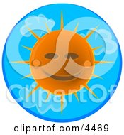 Happy Sunny Summer Day Clipart by djart