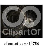 Royalty Free RF Clipart Illustration Of A Fractal Vortex by oboy
