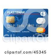Blue Plastibank Credit Card