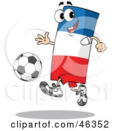 Sorbs Flag Playing Soccer