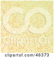 Royalty Free RF Clipart Illustration Of An Abstract Orange Textured Background by elaineitalia