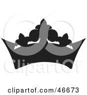Black Herald Crown Silhouette