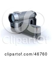 Royalty Free RF Clipart Illustration Of 3d Home Video Camera