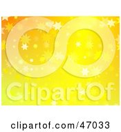 Clipart Illustration Of A Sparkly Yellow Star Background