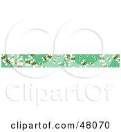 Royalty Free RF Clipart Illustration Of A Border Of Honey Bees On Green by Prawny