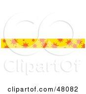 Border Of Suns On Yellow