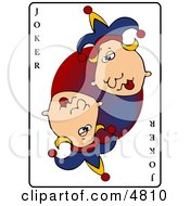 Joker Playing Card Clipart by djart